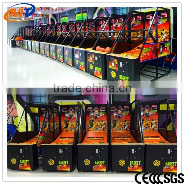 Children Street Ocean Basketball Shooting Sports Game Machine With Electric Scoring for Game Center