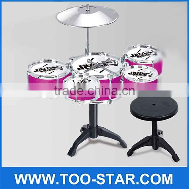 Jazz Drum Kids Early Education Toy Percussion Instrument Musical Toy Great Gift electronic drum kit
