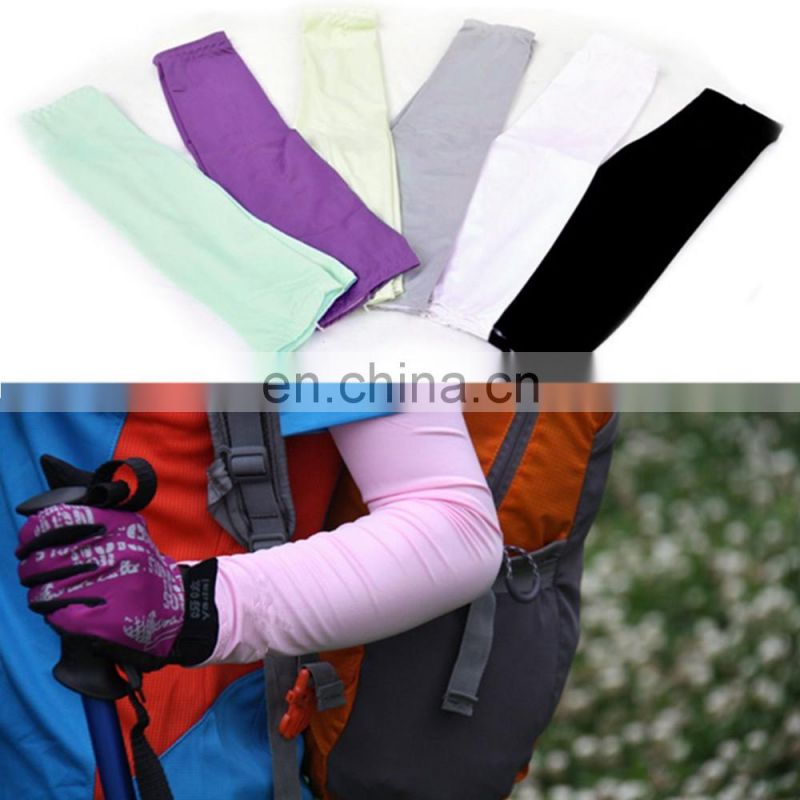 Cooling Arm Sleeves Sun UV Protective Sleeves Cool-Dry Sports Golf Cycling Fishing Covers