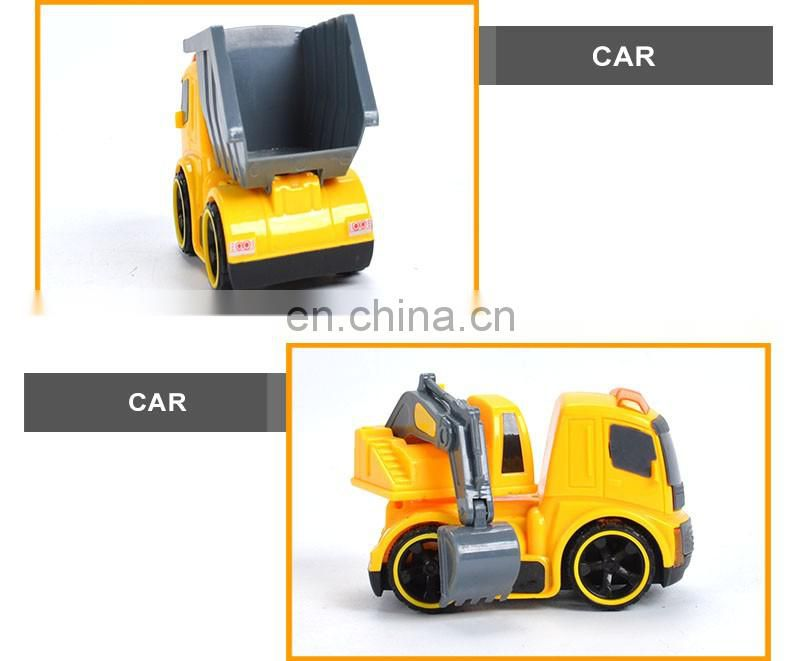 Most Popular Plastic Truck Car Cartoon Friction chinese mini car