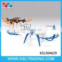 High quality 6 axis gyro rc drone quadcopter toy two color mixs