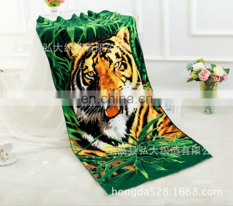 China factory 2017 new promotional microfiber photo printed beach towels