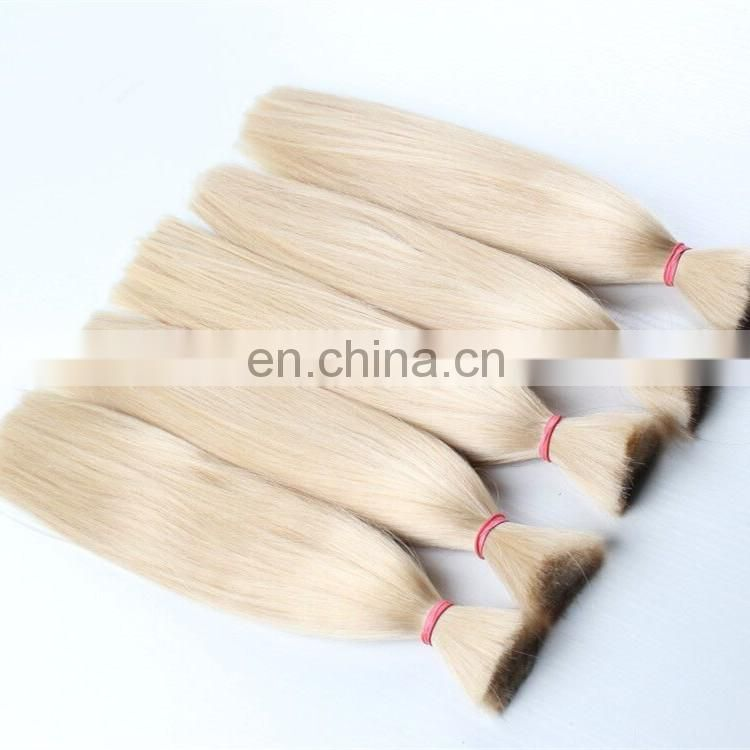 Hot sale double drawn russian remy human hair no track hair extensions