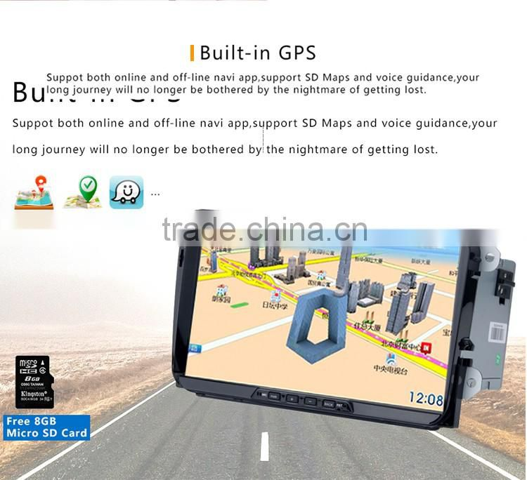 9 Inch 2 din Black screen RK3188 Android 5.1.1 CPU 16 GB Android car gps dvd player OEM for VW Volkswagen Golf 5 6 Polo
