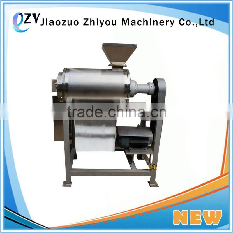 Kiwifruit/Tomato Paste Making Machine/Fruit Pulper pulping Machine with one and two channels(email:millie@jzzhiyou.com) Image