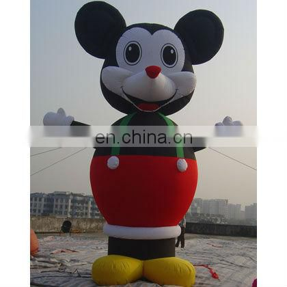 Inflatable Mouse and Duck cartoon characters, with customized design