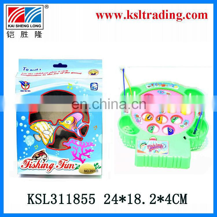kids plastic electric fish toys