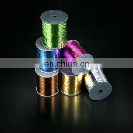 Quality pure silver M type metallic yarn