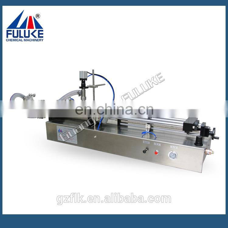 Semi-auto Pneumatic horizontal hair lotion filling machine