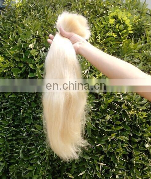 Top Quality Bleach Blonde Remy Hair Bulk 613# From Yotchoi Hair