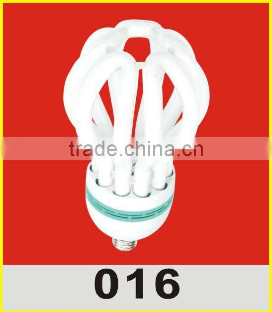 Top sale tricolor and mixed phosphor high power 220V lotus energy saving light bulbs