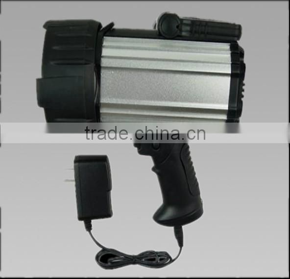 Gz portable outdoor search light top sale SLE88 marine remote searchlight Cree 3W , rechargeable 3.7v 3Ah Lithium