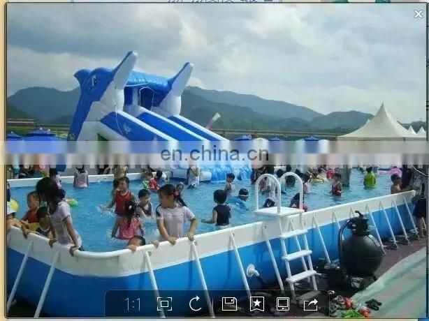 New design Metal frame swimming pool for kids&adults