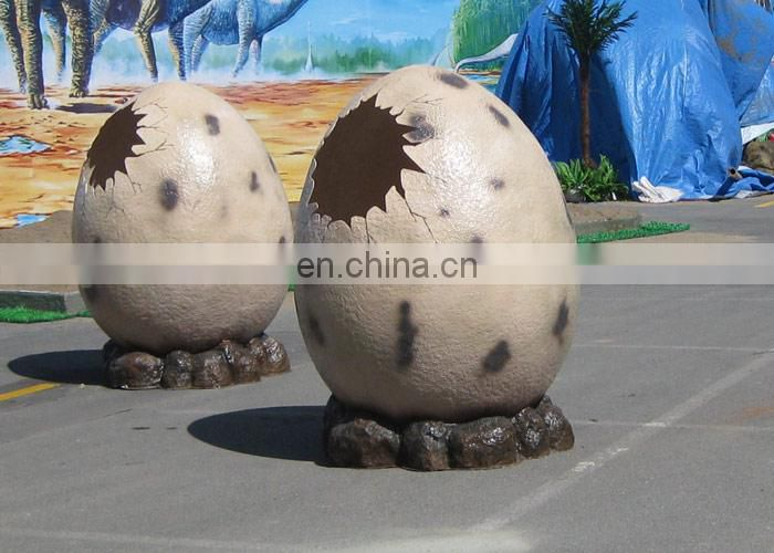 Kids Amusement Park Attractive Fiberglass Dino Egg For Sale