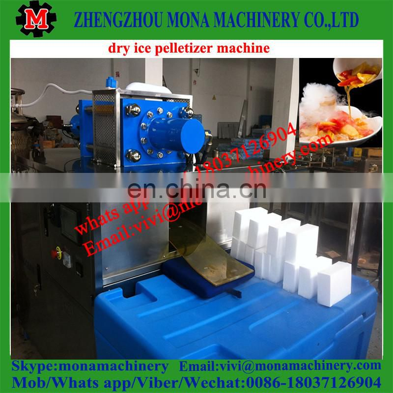 popular fast equipment ice cube making machine for hotel using