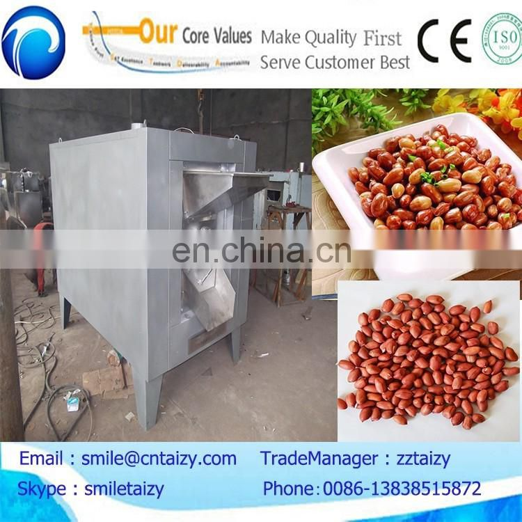 commercial peanut butter processing line peanut roasting machine