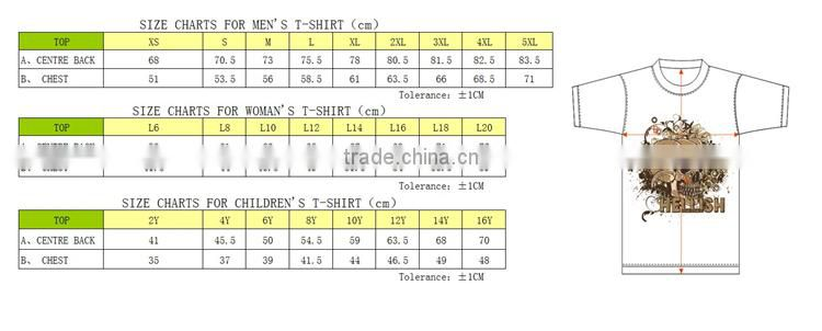 hot sale custom FRENCH TERRY reversible t-shirt production for men