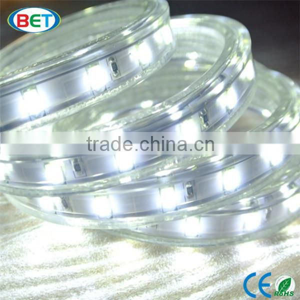 50m/Roll China led light 50 meter 5730 christmas decorative 5630 led strip 220v 60 led/m rgb led strip with 24 key remote