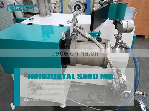 1L ceramic rotor bead mill for inkjet ink