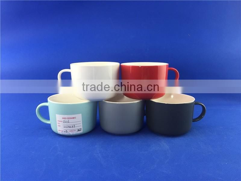 hot selling colorful kids coffee mugs