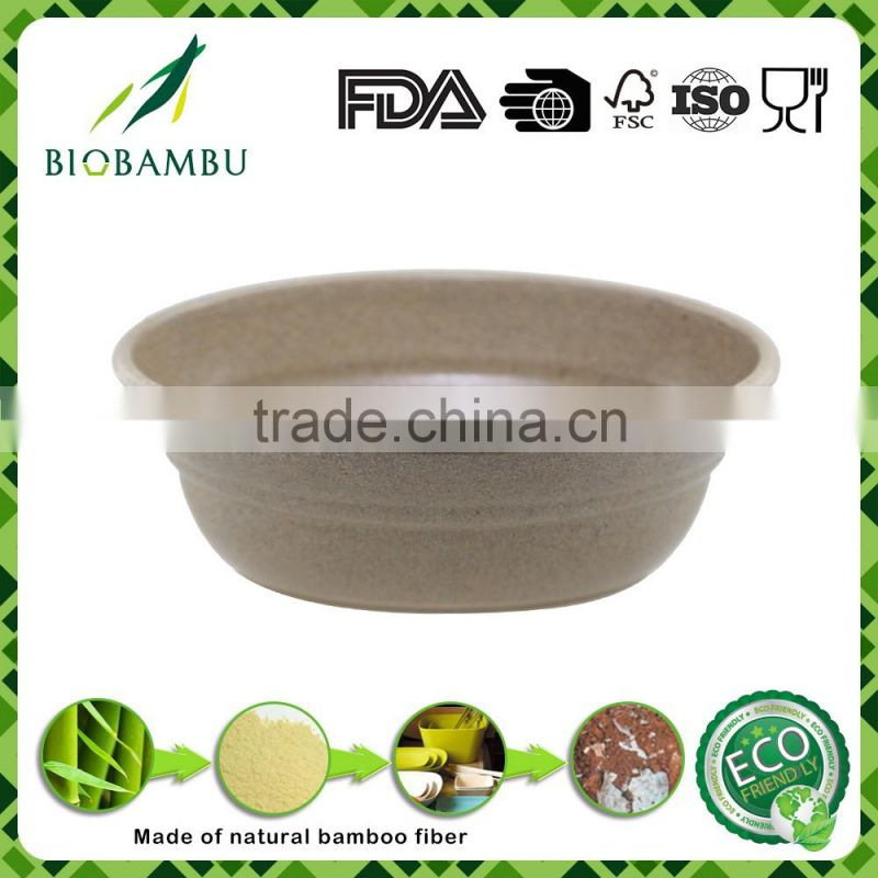 Promotional Traditional Unique bamboo fiber flower pot