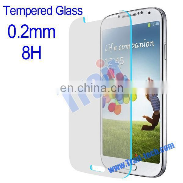Explosion-proof Ultrathin Flexible 0.2mm 8H Super Organic Tempered Glass Screen Protector For Samsung Galaxy S4 i9500