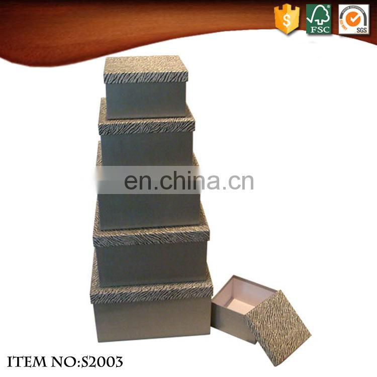 Wholesale Recyclable Glitter Paper Candle Packaging Boxes