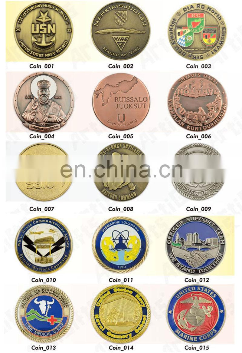 Wholesale cheap metal 3d geocoins