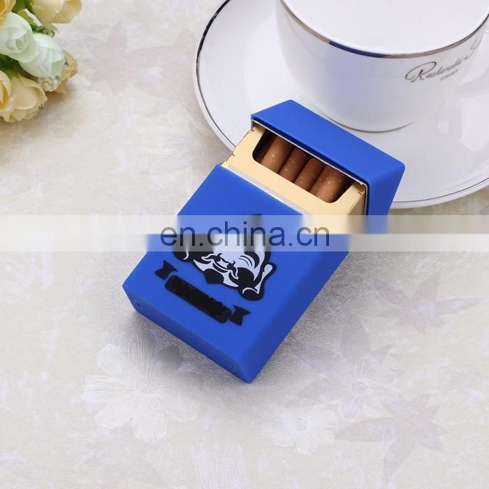 Samples Are Available Colorful novelty fancy rubber cigarette case