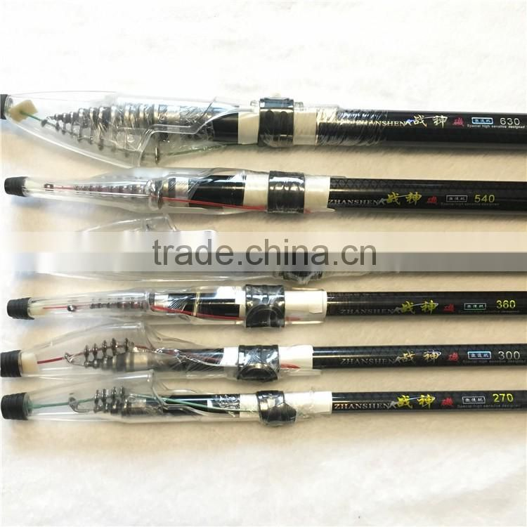 New Angeles Rod Carbon Rock Fishing Rod Superhard 2.7/3/3.6/4.5/5.4/6.3 m Hand Rod And Sea Fishing Rod