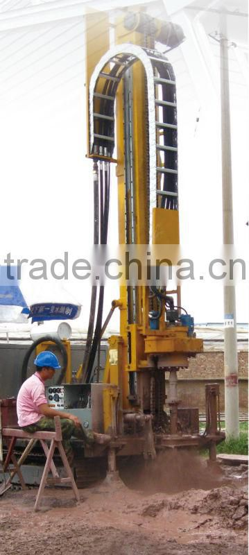 Multi-function crawler DTH drilling rig for selling!HFDZ350 high cost performance DTH drilling rig
