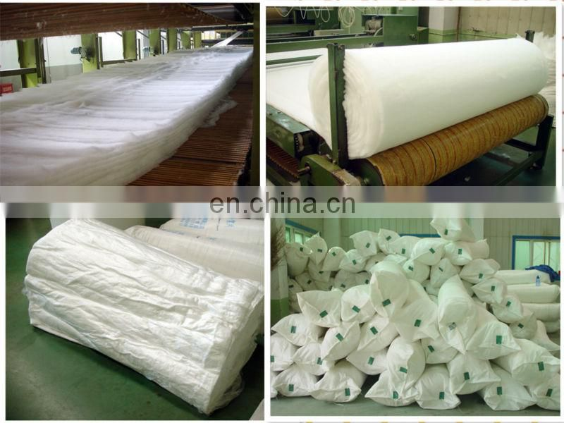 2013 New Thermal-bonded nonwoven down pad for quilt and garment