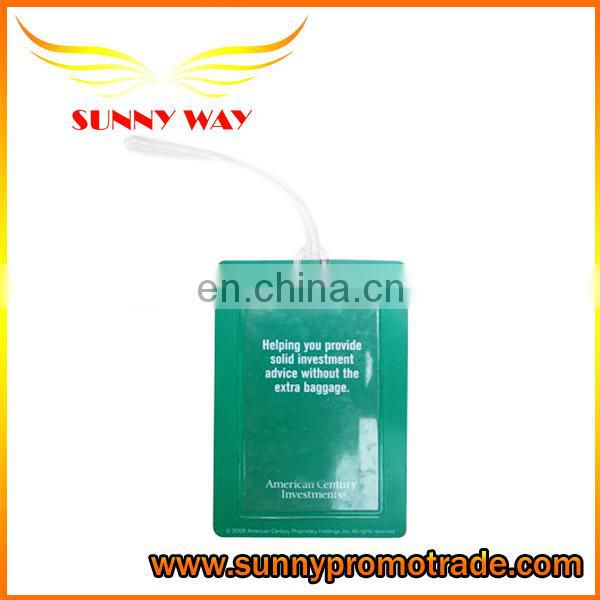 Promotional PVC Personalized Bag Tag