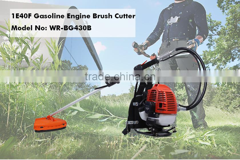 (933)1E40F Gasoline Engine 42.7 CC Price Bush Cutter Grass Trimmer BG430