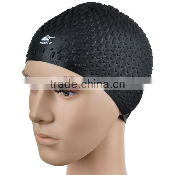Good elasticity ear protection swimming cap silicone