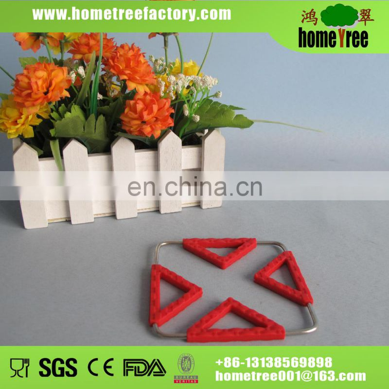 2014 hot sale small silicone pot holder