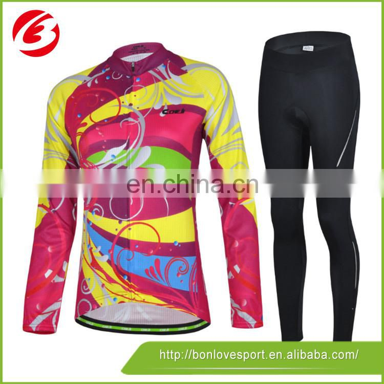 china custom designed cycling jersey sublimation cycling jersey
