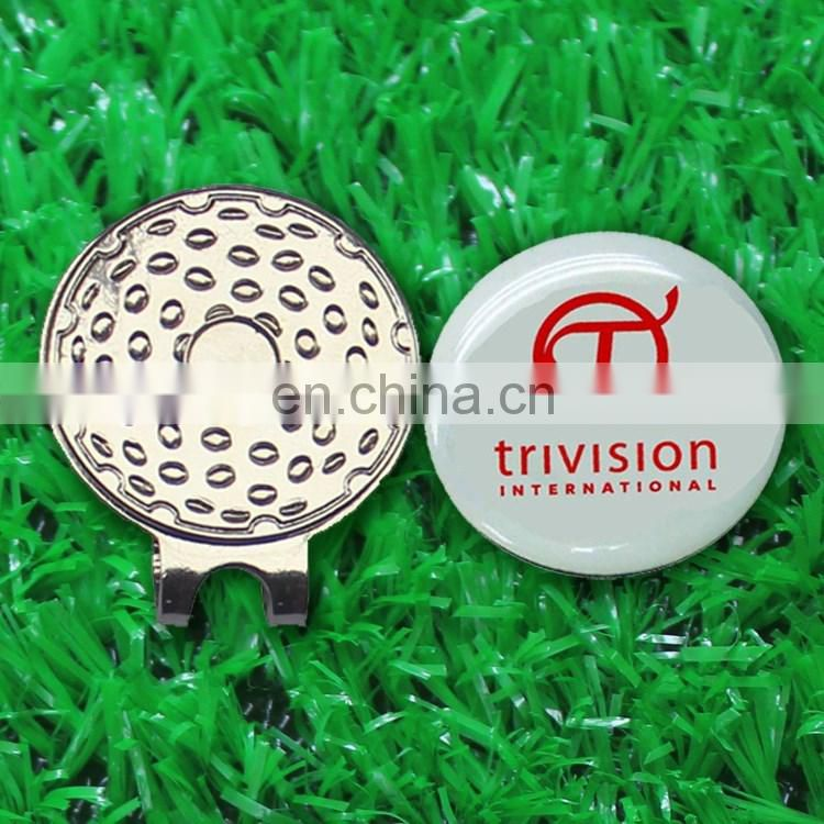 Hot Selling custom color logo golf tee markers