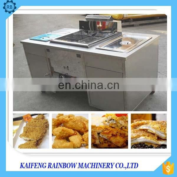 Full stainless steel multifunctional potato chip fried  machine chicken fried machine with temperature adjustalbe 30-220 degree