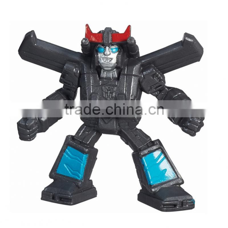 custom pvc cartoon character robot figure,customized plastic pvc robot figure toys