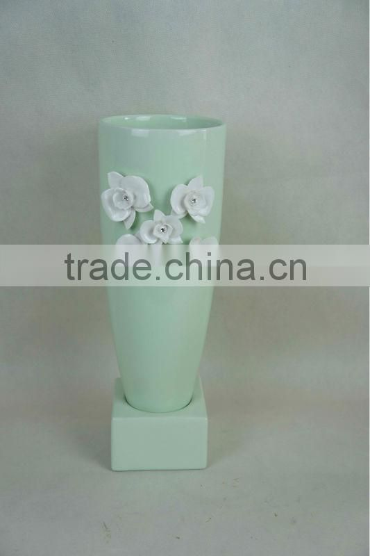 Cheap Price Ceramic flower pot holder wholesale
