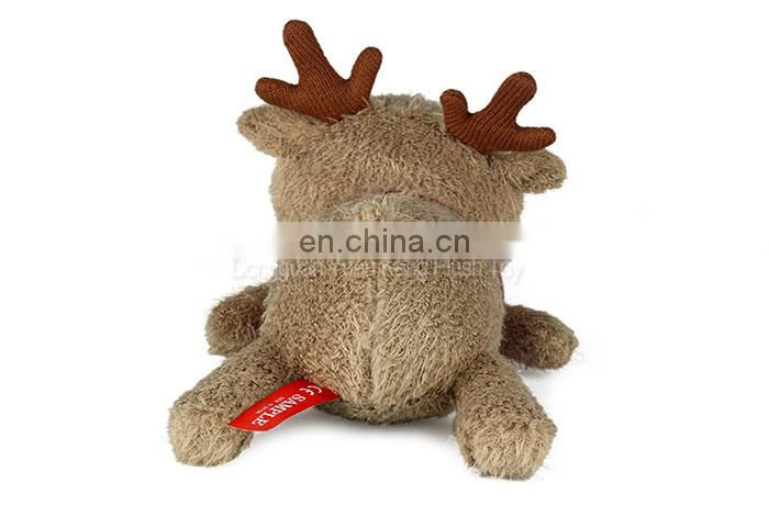 Custom made cute plush deer stuffed toy