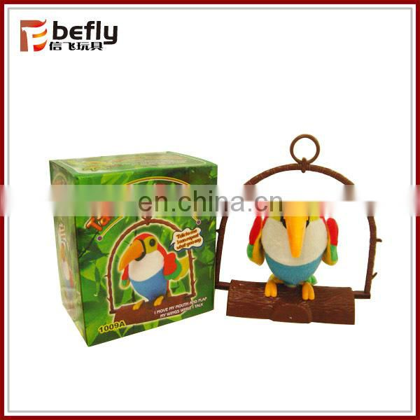 Wholesale repeating toys talking parrot