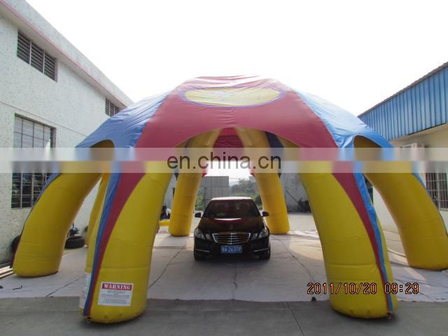 Outdoor hot sale new design PVC inflatable car tent