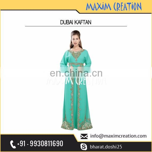 New Stylish Ornamented Indian Kaftan with Modern Needleless Work Available at Competitive Market rate