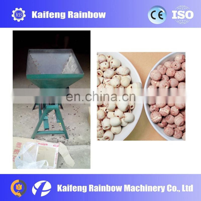 Stainless Steel Factory Price  corn peeler and sheller lotus seed peeling machine