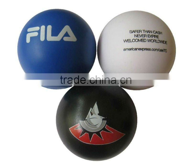 PU foam bowling ball stress toy ball