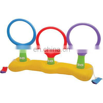 Inflatable Pool Kids Ring Toss Game