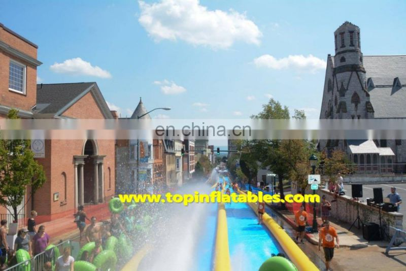 Top Inflatables Airtight 1000ft Inflatable Slip N Slide for even, Slide The City,inflatable water slide
