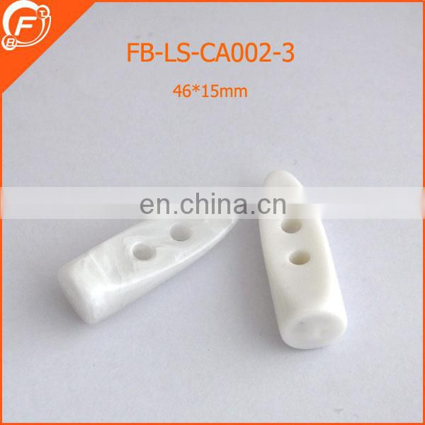 2015 plastic horn toggle button for belts buckle